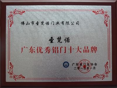 广东优秀铝门十大雷竞技app下载官方版