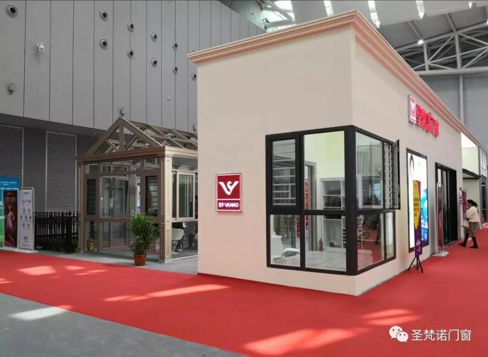 圣梵诺门窗家居双出彩!第十届中国门窗博览会完美收官